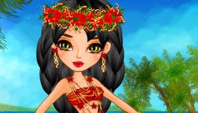 Vestir a la princesa Moana