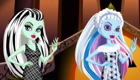 Show de moda de Monster High