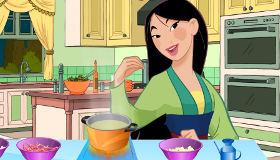 Juego de Mulán de cocina