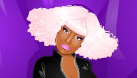 Vestir y peinar a Nicki Minaj