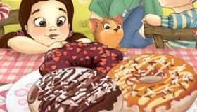 Juego de decorar donuts