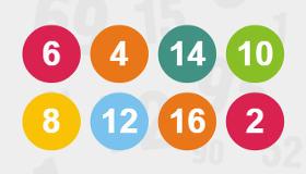 Juego de contar números