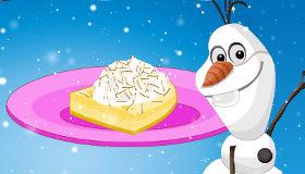 Frozen cocina con Olaf