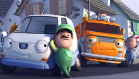 Olly la furgoneta blanca