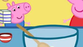 Peppa Pig a cocinar