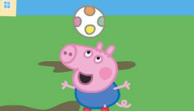 Peppa Pig de fútbol