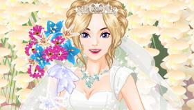 Cambio de look de novia princesa