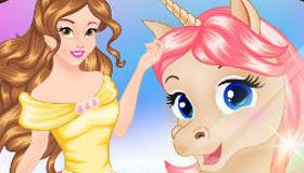 La Bella y su unicornio