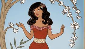 Vestir a la princesa Elena