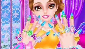 saln de manicura para princesas
