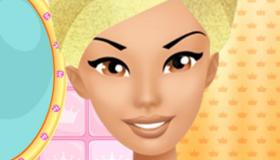 Juego de maquillar de princesa