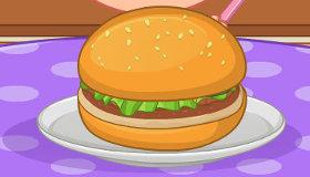 Cocina rápida hamburguesas