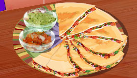 Cocinar quesadillas