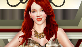 Juego de vestir a Rihanna