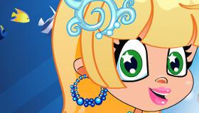 Juego de sirena princesa