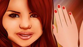Selena manicura