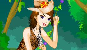 Juego de vestir para la selva