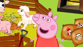 Peppa Pig en la granja