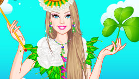 Barbie Shamrock Celebration
