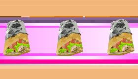 Cocinar shawarma de pollo