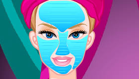 Cambio de look en el spa de Barbie
