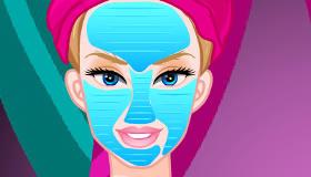Cambio de look en el spa de Barbie