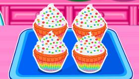 Pasteles multicolor de Snoopy
