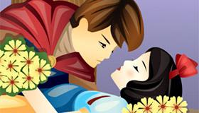 Juego de besos de Blancanieves