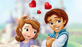 La Princesa Sofía y su novio