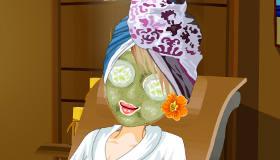 Juego de vestir de spa