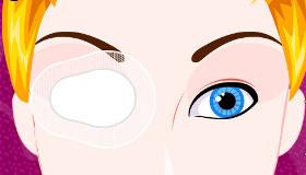 Operar el ojo de Cenicienta