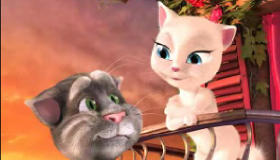 Talking Tom y Angela