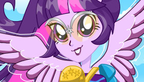 Equestria Girl Twilight Sparkle