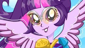 Juego De Equestria Girl Twilight Sparkle Gratis Juegos Xa