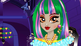 Cambio de look para Twyla de Monster High