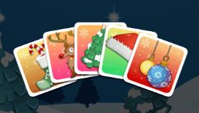 Emparejar cartas de Navidad