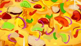 Pizza de pisto