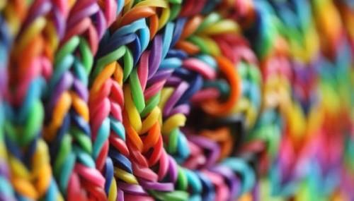 Las mejores ideas con gomitas de colores Loom Bands